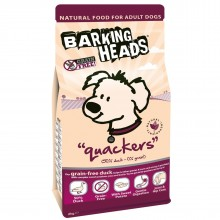 "Barking Heads Quackers Grain Free/ Беззерновой для Собак с Уткой и бататом ""Кряква"""