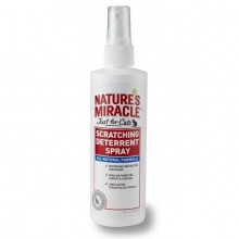 Nature's Miracle Just For Cats Scratching Deterrent Spray/ Средство предотвращающее царапанье кошками предметов обихода  237 мл