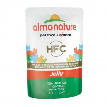Almo Nature Classic Nature Jelly - Tuna/ Паучи Тунец в Желе для кошек 55г