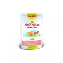 Almo Nature Classic Nature Jelly - Salmon/ Паучи Лосось в желе для кошек 55г