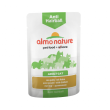 Almo Nature Functional Anti-Hairball with Chicken/ Паучи с курицей для вывода шерсти у кошек 70г