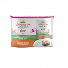 "Almo Nature Multipack Classic Chicken Fillet/ Паучи для Кошек ""Куриное филе"" Набор 6*55г"